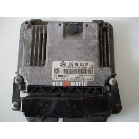 ECU SKODA SUPERB   03G906021QM 0281014111