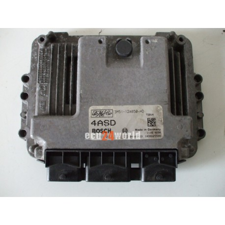 ECU FORD CMAX 1,6 TDCI  3M5112A650HD 4ASD 0281011533