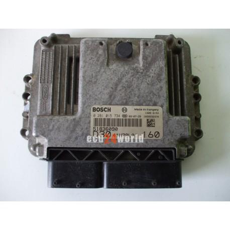 ECU DUCATO BOXER JUMPER 3,0 JTD 0281015734 51836090