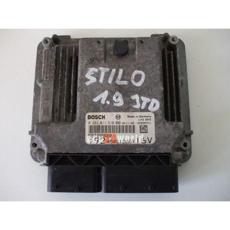 0281011510 55198820 ECU FIAT STILO 1,9 JTD
