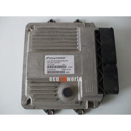 ECU FIAT 500  51829540 MJD6F3B1