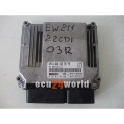A6461537879 0281011702 MERCEDES 2,2 CDI CR3.41 ECU