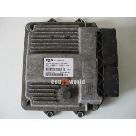 ECU FIAT IDEA 1,3 JTD  51775013 MJD6JFM4
